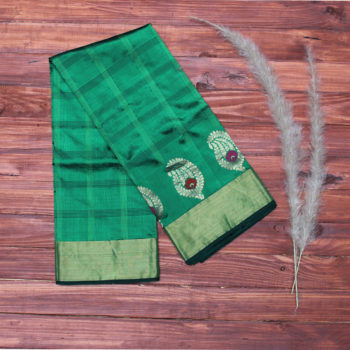 emerald-green-pure-banarasi-saree