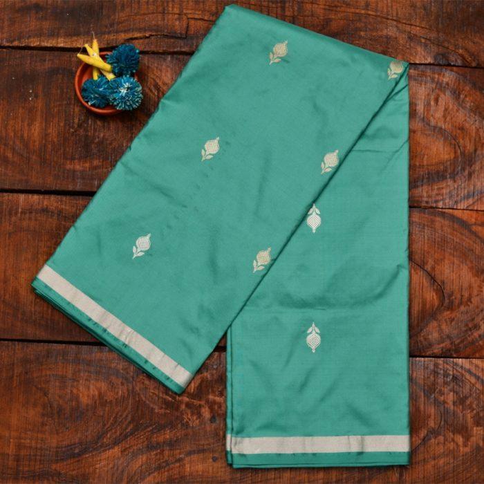 dark-sea-green-banarasi-saree