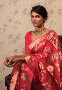 rani_pink_katan_banarasi_silk_saree
