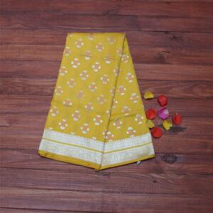 light_yellow_katan_pure_silk_saree