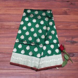green_bootidaar_banarasi_silk_saree