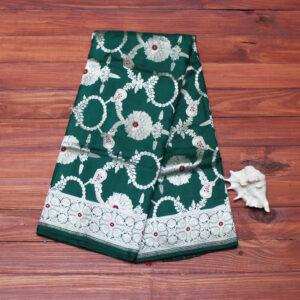 green_jangla_katan_banarasi_saree