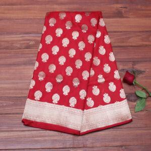 red_bootidaar_banarasi_saree